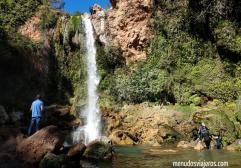 La ruta de las 3 cascadas con niños en Anna