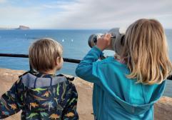 La Ruta del Faro del Albir con niños