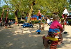 Vondelpark con niños